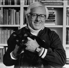 What appears, by all accounts, to be Ray Bradbury's favorite picture of himself from his later years.