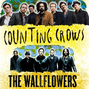 Counting Crows and the Wallflowers are back on tour together again.  You should go see them!
