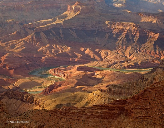 With all the pictures I've taken of the Grand Canyon over my many visits, it's kind of criminal that I had to borrow one for this post.  But they're all on the other computer and I have to get to work soon.  Thanks Mike Buchheit and the Grand Canyon Association!