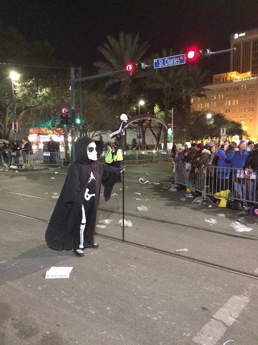 Yeah, it's a little like Halloween.