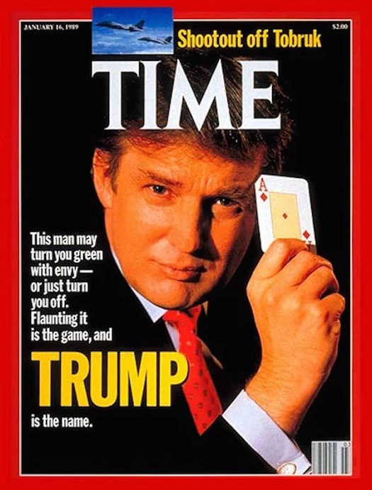 Time Magazine cover, January 1989.